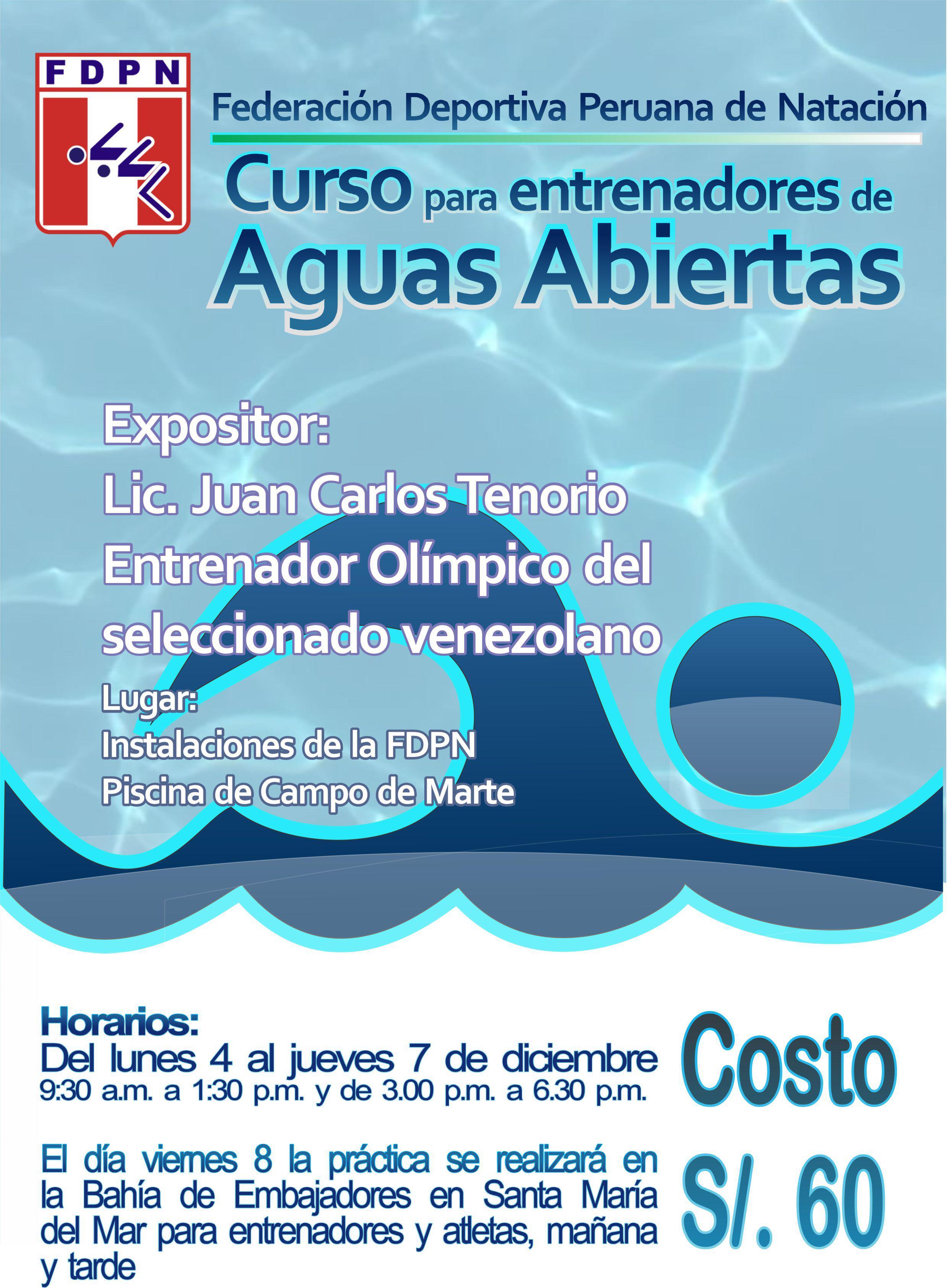 Curso para Entrenadores de Aguas Abiertas 02d22a37770